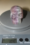 SOLD OUT 10.9 oz. Sha Na Ra Energized Flourite Crystal Skull